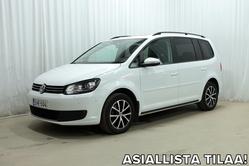 Volkswagen TOURAN Family Edition 1,6 TDI 105 hv BlueMotion *7-PAIKKAA, WEBASTO, NAVI, XENON YMS.*, vm. 2015, 100 tkm