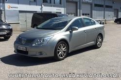 Toyota AVENSIS 1,8 Valvematic Sol Edition 4ov Multidrive *JUURI HUOLLETTU**, vm. 2010, 183 tkm