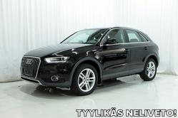 Audi Q3 2,0 TDI 140 hv quattro *OFFROAD-PAKETTI, KOUKKU, XENON YMS.*, vm. 2014, 57 tkm