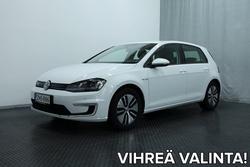 Volkswagen GOLF e-Golf 85 kW (115 hv) automaatti 4-ovinen *LÄMPÖPUMPPU, NAVI, TUTKAT YMS.*, vm. 2015, 29 tkm