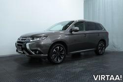 Mitsubishi OUTLANDER PHEV Business 4WD 5P (MY18) *LED-VALOT, ACC CRUISE, ROCKFORD-AUDIO, KOUKKU, NAHKAT YMS.*, vm. 2018, 84 tkm