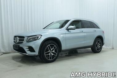 Mercedes-Benz GLC 350 e 4Matic A AMG Line *HUIPPU VARUSTELULLA, KATSO LISTA!*, vm. 2017, 97 tkm (1 / 38)