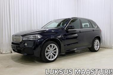 BMW X5 F15 xDrive40d A M Sport *UPEASTI VARUSTELTU JA TEHOA LÖYTYY!*, vm. 2015, 98 tkm (1 / 32)