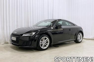 Audi TT Coupé 2,0 TFSI 230 hv quattro S tronic *VÄHÄN AJETTU JA MERKKIHUOLLETTU TT!*, vm. 2015, 36 tkm (1 / 28)