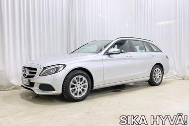 Mercedes-Benz C 200 d T A Premium Business *KOUKKU, LEDIT, NAVI, YMS. KATSO LISTA!*, vm. 2016, 142 tkm (1 / 30)