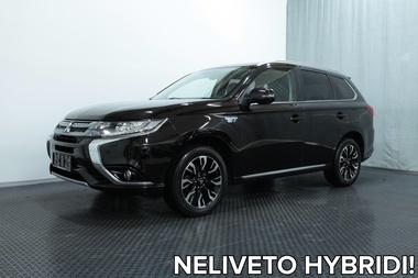 Mitsubishi OUTLANDER PHEV Executive Edition 4WD 5P (MY16) *NAHKAT, NAVI, ROCKFORD-AUDIO, JUURI HUOLLETTU, UUDET TALVIRENKAAT YMS.*, vm. 2016, 100 tkm (1 / 34)